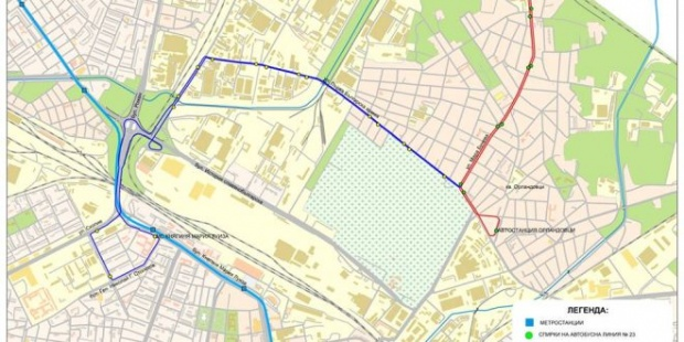 Удължават маршрута на автобус №23