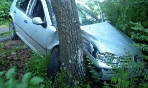 29-годишен шофьор самокатастрофира с БМВ на пътя Баня-Банско. Инцидентът е