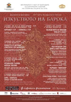 """Дванадесетият фестивал за старинна европейска музика """"Изкуството на барока"""" отново"""