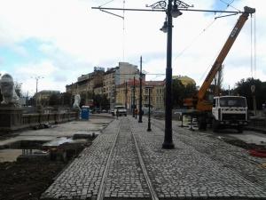 След зимата започва ремонт на трамвайните трасета по бул.