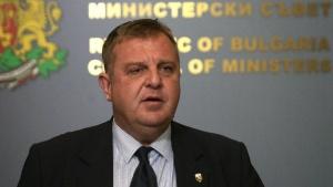 Вицепремиерът и министър на отбраната Красимир Каракачанов изрази съгласие с