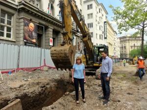 Поредният скандал, свързан с ремонта на столичната улица
