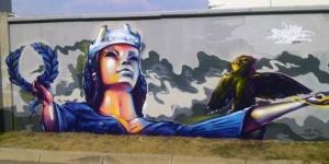 Над 300 кв.м. графити в София са почистени от Столичния