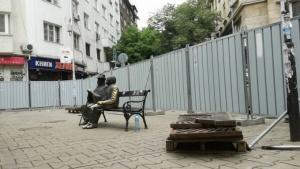 Проверката на ремонтите по софийската улица