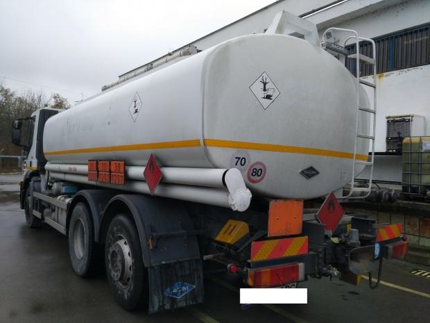Задържаха над 44 тона нелегални горива встолицата