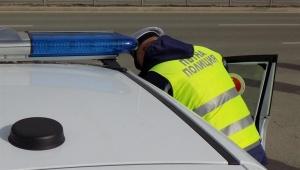 Тази сутрин пътни полицаи предприели проверка на техническото състояние на