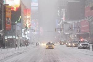 Първите снеговалежи в САЩ, които паднаха в сряда и четвъртък
