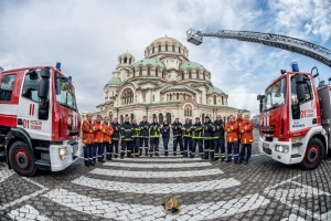 Пожарникари от цяла Европа се събират в София. Националният синдикат