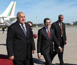 Министър-председателят Бойко Борисов пристигна на официално посещениевКралство Мароко. Той беше