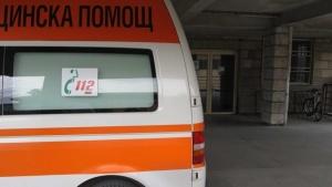 Катастрофа стана в района на Пловдив.Автобус на градския транспорт се