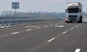 В ремарке на товарен автомобил, движещ се по автомагистралата
