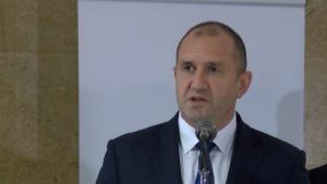 Президентът Румен Радев и водената от него делегация пристигнаха в