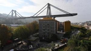 До Коледа догодина Генуа ще има нов мост, който ще