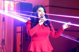 Впечатляващ двоен юбилей отпразнува в Перник народната певица Ива Давидова.