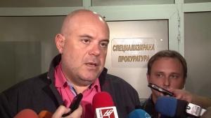 Иван Гешев и ръководител на Специализираната прокуратура, директорът на ГДБОП