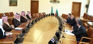 Министър-председателят Бойко Борисов се срещна в Министерския съвет с принц