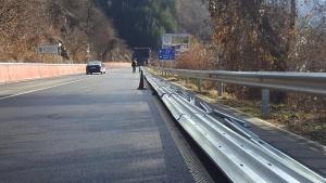 Снимка: Утре спират движението по част от пътя София-Своге