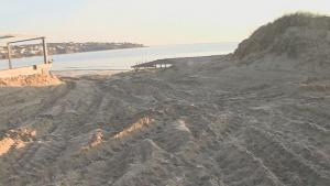 Все още не е установено кой е разорал дюните до