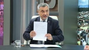 """Лидерът на НФСБ и депутат от """"Обединени патриоти"""" Валери Симеонов"""