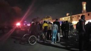 Най-малко 66 са жертвите на експлозията и последвалия пожар в