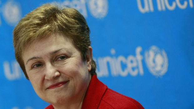 Кристалина Георгиева временно ще оглави Световната банка