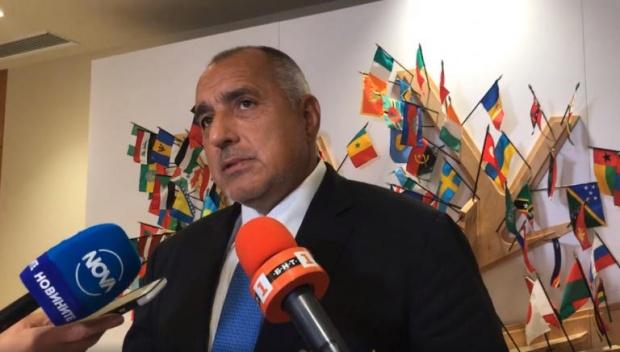 """Борисов обсъди развитието на ситуацията около пакета """"Мобилност 1"""" с председателя на Европейския  парламент Антонио Таяни"""