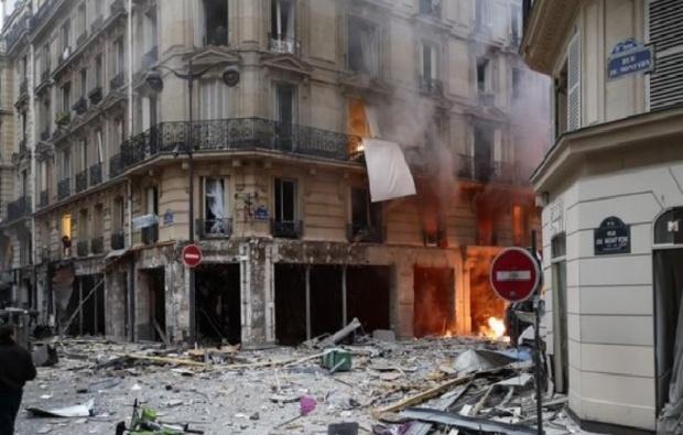 Поне 20 ранени при взрива в парижката хлебарница