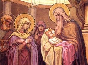 Църквата почита Свети Симеон Богоприимец и Анна пророчица
