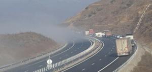 """Възстановено е движението в двете посоки по магистрала """"Струма"""" в"""