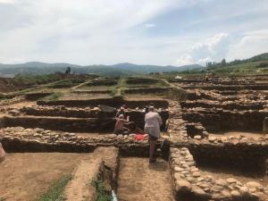 """Снимка: Готов е проектът за преместване на археологическите ценности, открити по трасето на """"Струма"""""""
