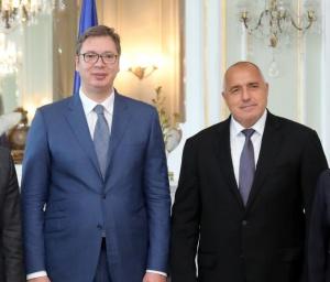 Президентът на Сърбия Александър Вучич ще удостои премиера Бойко Борисов