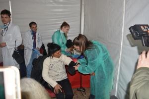 Снимка: Над 500 души бяха прегледани безплатно в социалната кухня на омбудсмана
