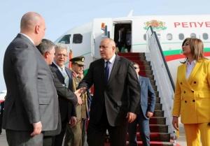 Министър-председателят Бойко Борисов пристигна в Шарм Ел-Шейх за участие в
