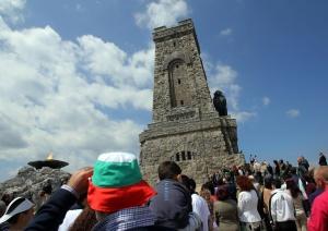 """Снимка: Специална организация на движението в прохода """"Шипка"""" за 3 март"""