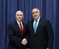 Вицепрезидентът на САЩ Майкъл Пенс поздрави България за направеното на всички нива