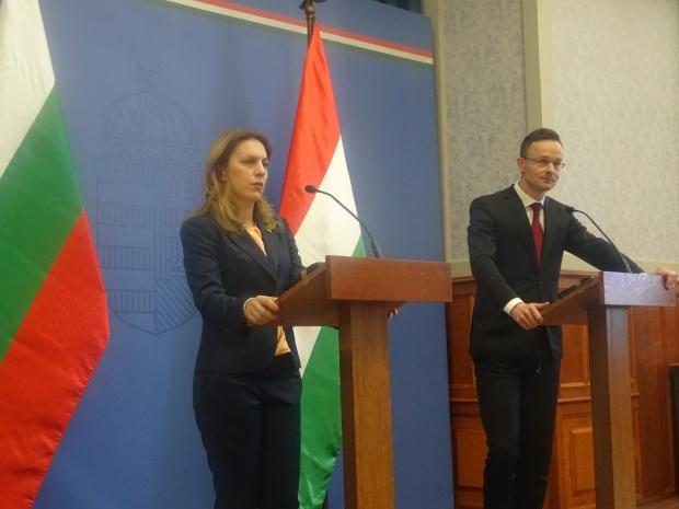 Петер Сиярто: Унгария ще продължи да подкрепя  България за членството в Шенген
