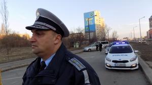Снимка: Пътните полицаи въвеждат специална организация още от днес