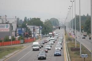 Снимка: Вече спряха камионите по основните пътища