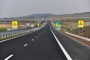 """Снимка: Ограничения за движението на магистрала """"Тракия"""""""