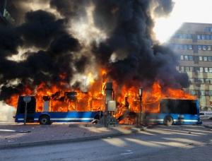 Мощна експлозияразтърси центъра на Стокхолм. По първоначална информация се е