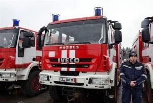 Пожарникари във Видин предотвратиха инцидент с локомотив, теглещ цистерни. Няма