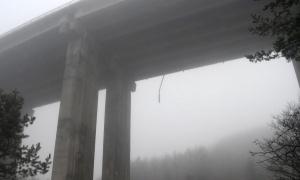 Млада жена е скочила от най-високия виадукт на магистрала