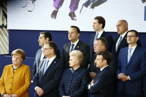 Министър-председателят Бойко Борисов участва в Брюксел в среща с премиерите