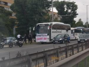 Снимка: Международните превозвачи обмислят нови протести