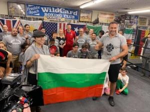 Трикратната световна шампионка по бокс Дейзи Ланг (Деси Кирова) даде