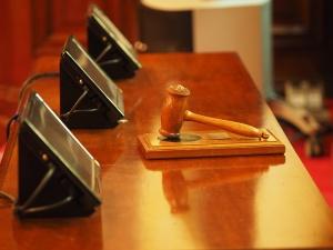 Снимка: Основният свидетел по делото КТБ на разпит в съда