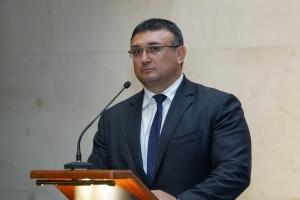 Министърът на вътрешните работи Младен Маринов проведе среща с делегация