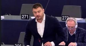 Евродепутатът Николай Бареков съзнателно не е участвал в гласуването в