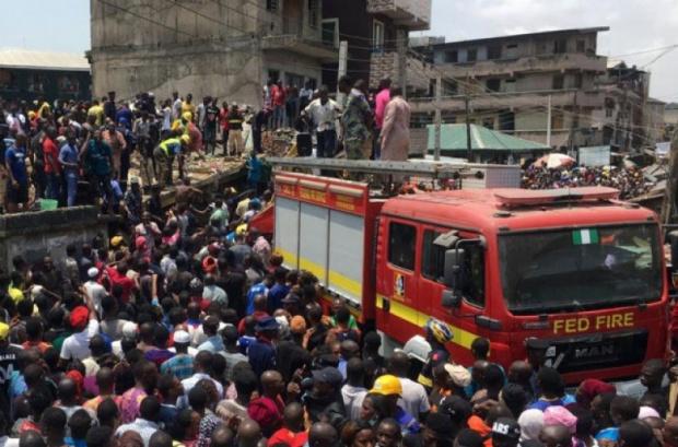 Основно училище се срути в Нигерия!