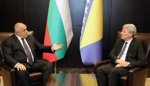 Борисов благодари на БиХ за намерението да подпише Споразумението за намаляване на роуминг